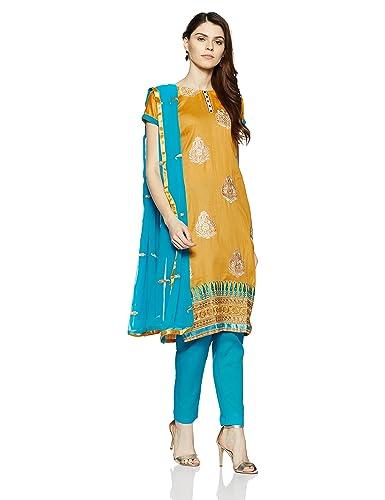 BIBA Women's Dress Material Dress Material at amazon