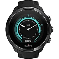 Suunto 9 GPS Sports Watch with Long Battery Life, Barometer and Wrist-Based Heart Rate (Black)