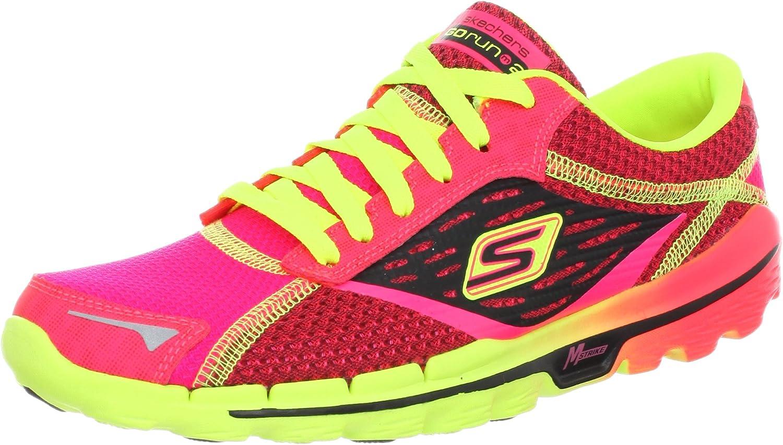 skechers go run 2 pink