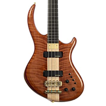 Alembic Rogue 4 Curly Redwood Top Walnut Core (Serial #Q14553
