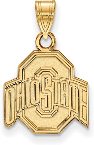 14k Yellow Gold University of Tennessee Volunteers School Letter Logo Pendant 10x10mm