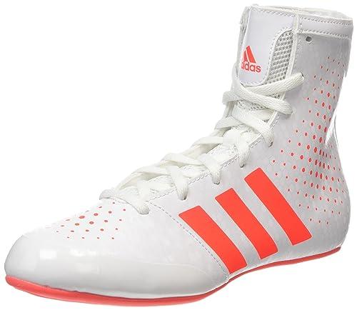 adidas Scarpe Ko Legend 16 2 Scarpe adidas da Boxe Unisex Adulto Bianco White/Coral ... 5b88bc
