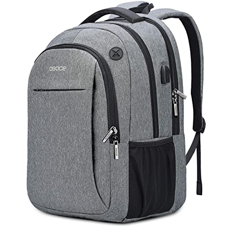 0e3d51d1bcf4 Backpacks Up to 15.6 inch Laptops,with USB Charging Port,Headphone  Jack,Anti Theft Lock- OSOCE 32L Water-Repellent Business Back Packs Bags