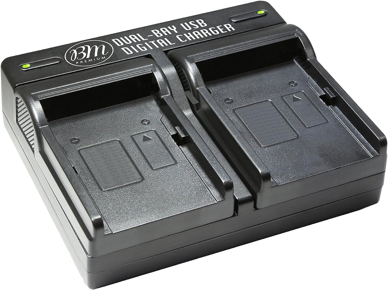 NP-FW50 Battery USB DUAL Charger for Sony Alpha a6500 a7s a7r NEX-3 NEX-5 NEX-6