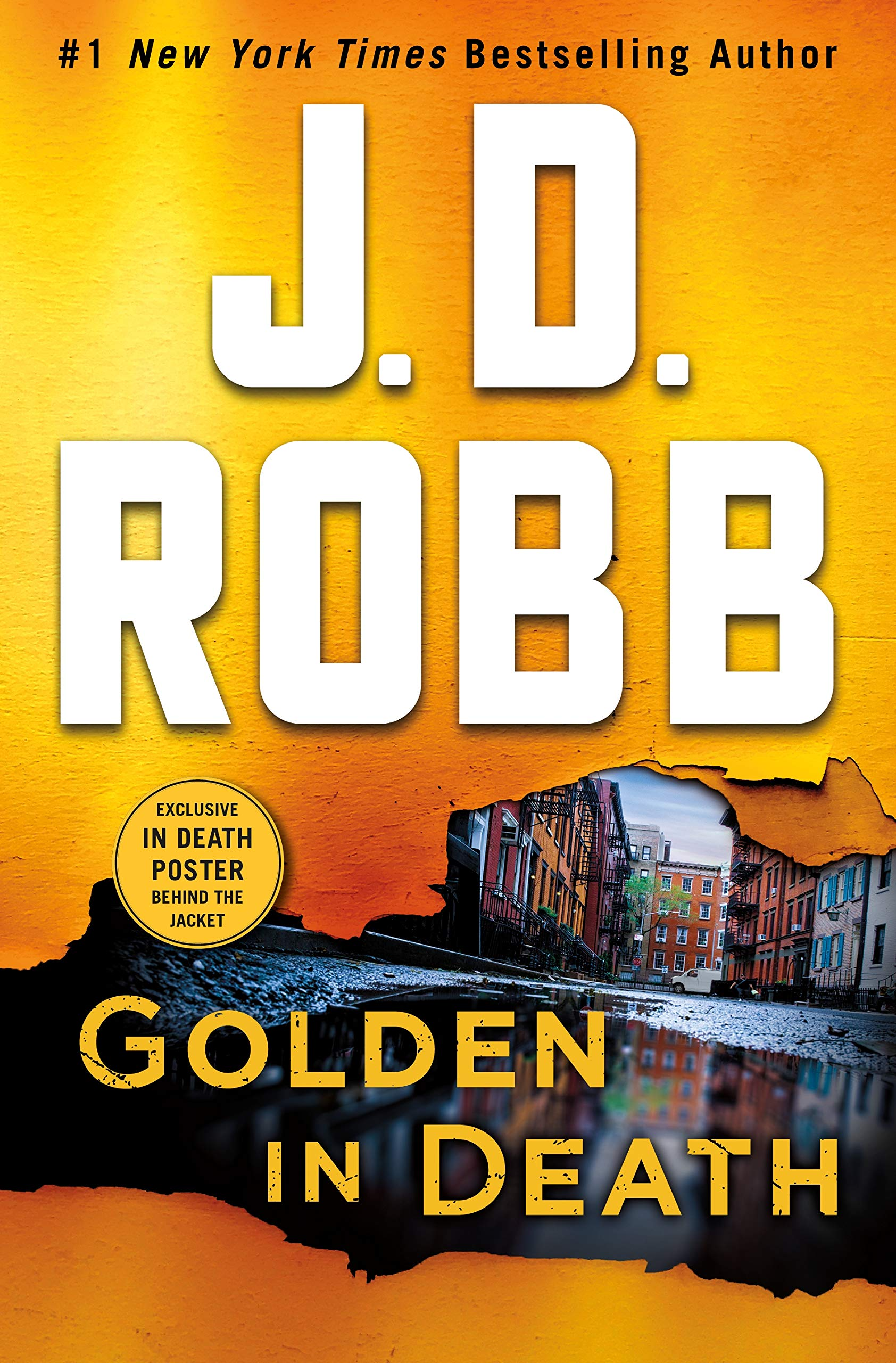 Golden in Death: An Eve Dallas Novel (In Death, Book 50) by St. Martin's Press