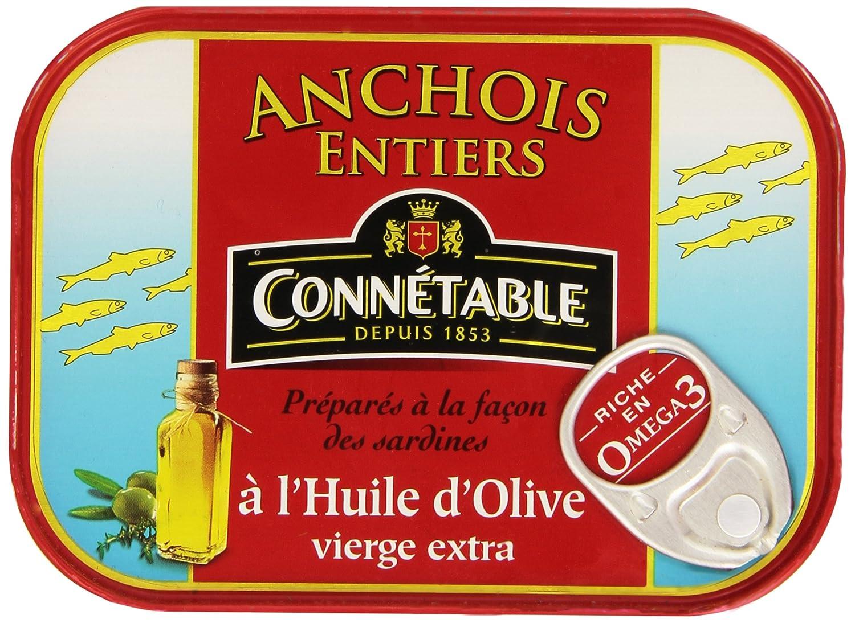 Connétable - Anchois Entiers - 100g
