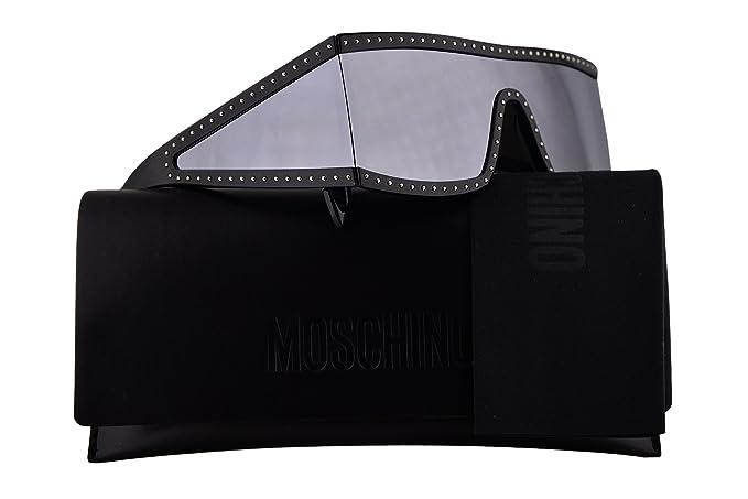 Moschino MOS004/S - Gafas de sol (lente de espejo de plata y ...
