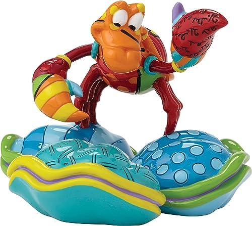 Disney by Britto The Little Mermaid Sebastian Mini Fig Stone Resin Figurine
