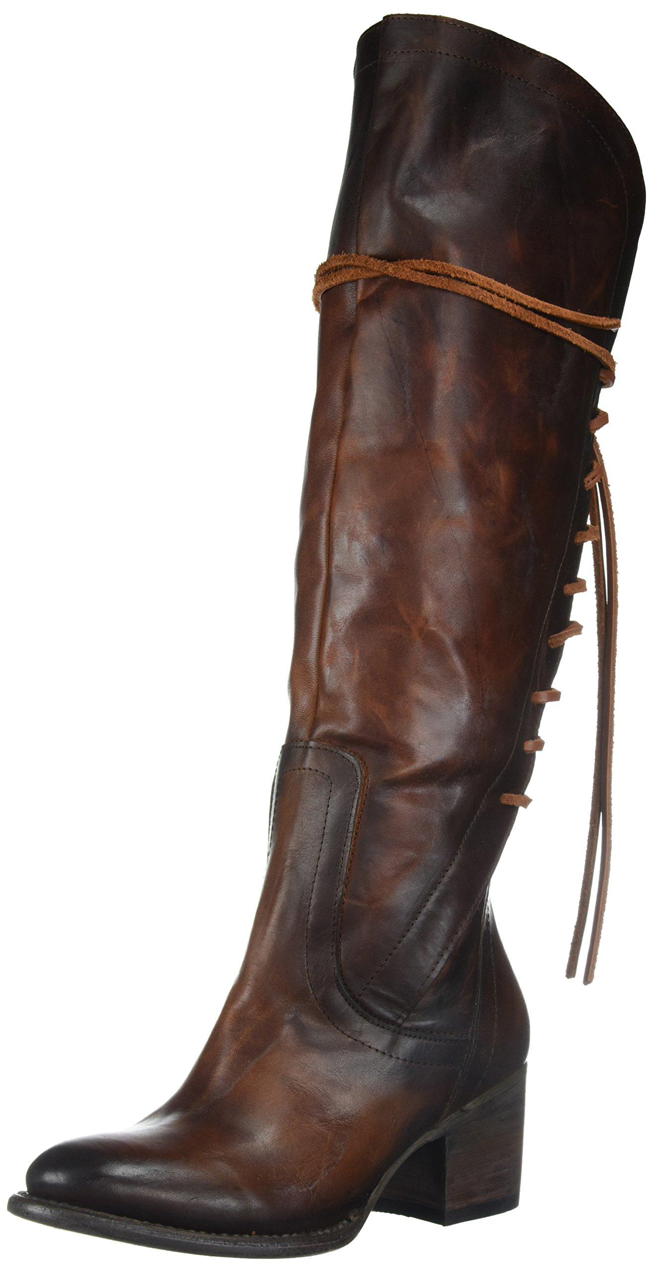 Freebird Women's Fb-Cosmo Knee High Boot, Cognac, 8 M US