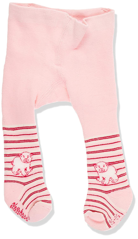 Playshoes Unisex Baby Warme Thermo Eisb/är mit Komfortbund Strumpfhose 2erPack