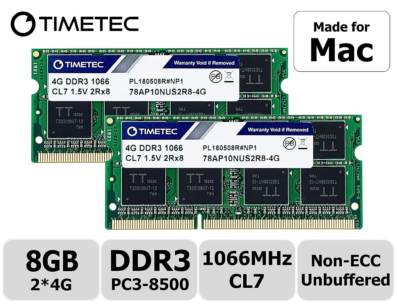 Memoria Ram 8gb 2x4gb Ddr3 1066mhz Pc3-8500 Para Macbook