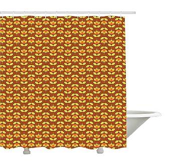 Yeuss Up And Down Tulpenblumen Mit Blätter Design Vintage