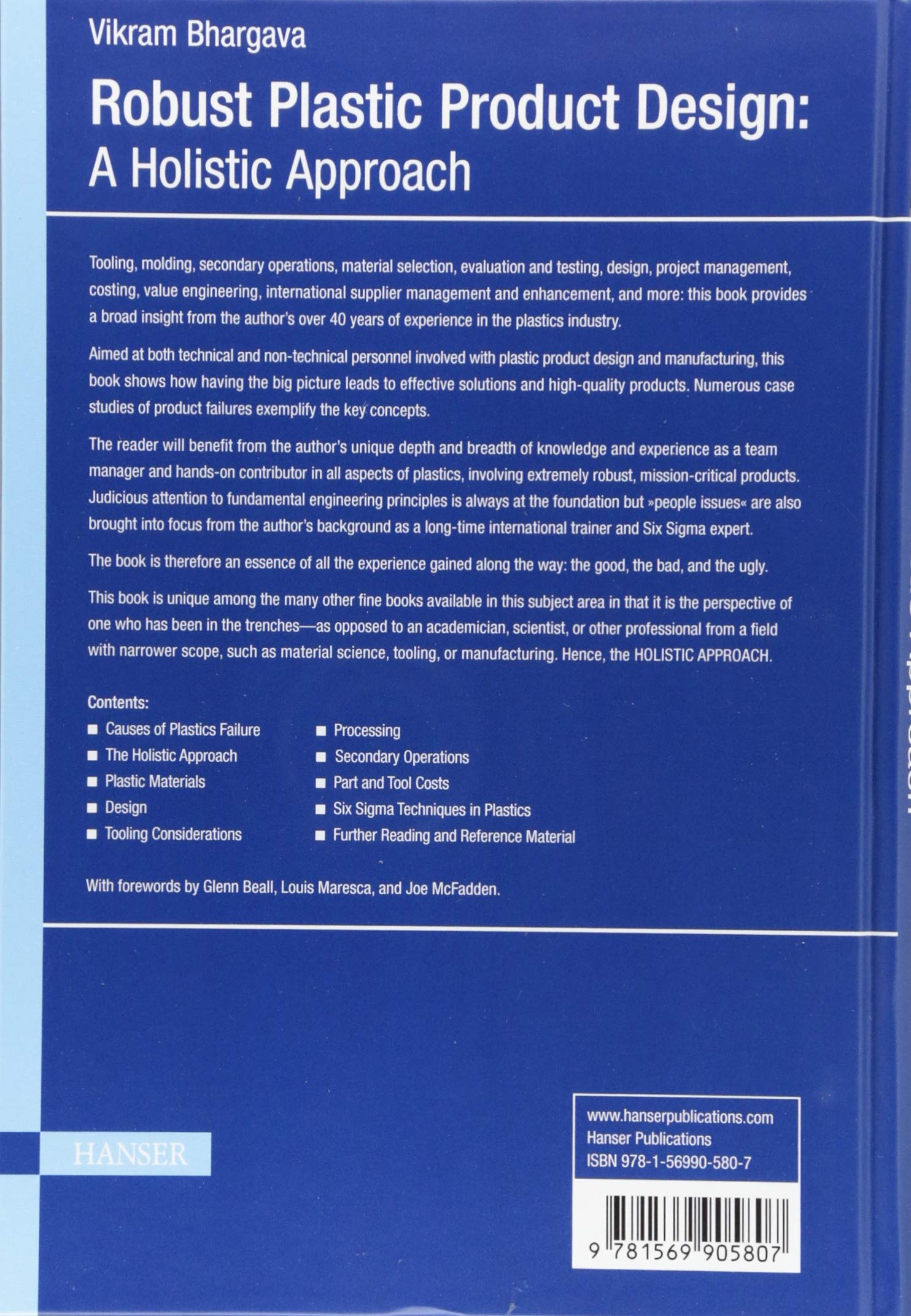 Buy Robust Plastic Product Design: A Holistic Approach Book