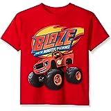 Nickelodeon Blaze and the Monster Machines Boys' Short Sleeve T-Shirt Shirt