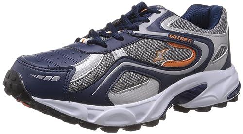 55940605b Sparx Men s Navy Blue and Orange Running Shoes - 8 UK (SM-171)  Buy ...