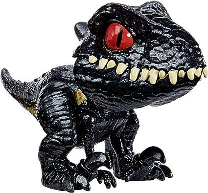 Jurassic World Snap Squad Indoraptor Tyrannosaurus /& Indominus Rex Action Figure