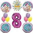 Amazon Com Jojo Siwa Party Supplies Dream Crazy Big 8th