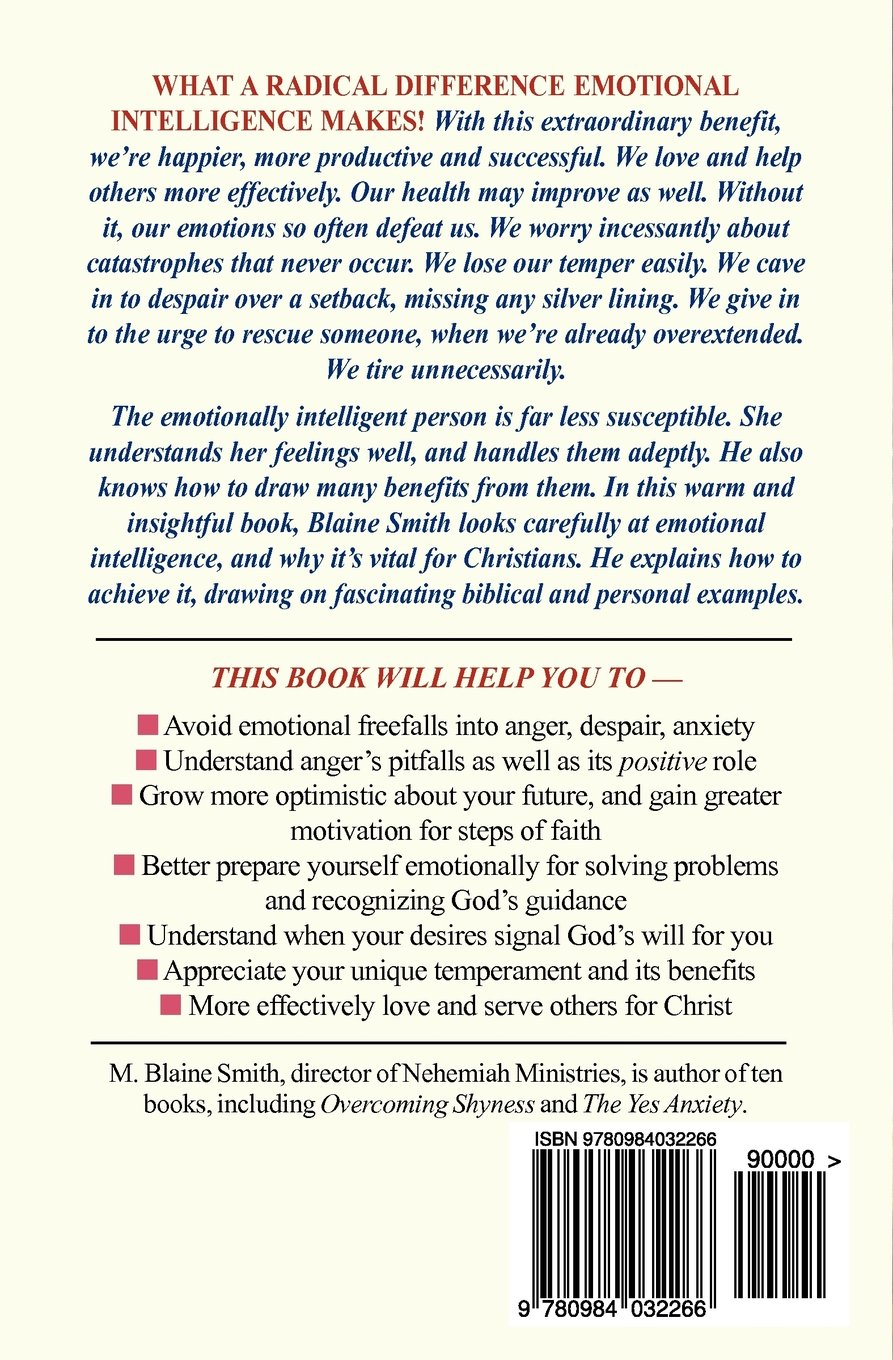 Emotional Intelligence For The Christian How It Radically Affects