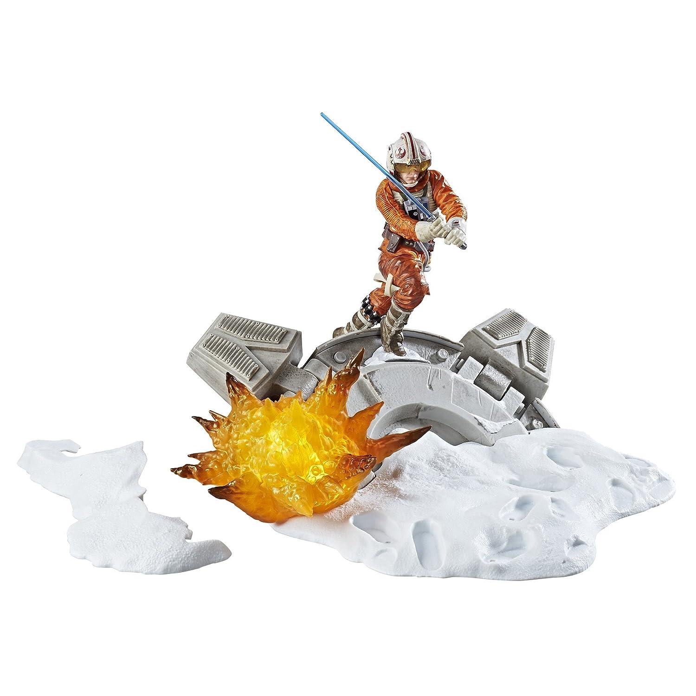 Hasbro Star Wars C1555EU4 - The Black Series 6 Zoll Luke Skywalker Diorama