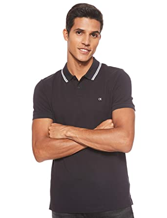 Calvin Klein Jeans Tipping Badge Pima Stretch Polo: Amazon.es ...