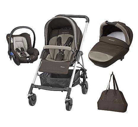 Bébé Confort Streety Next - Cochecito de paseo para bebé, 3 piezas, color earth