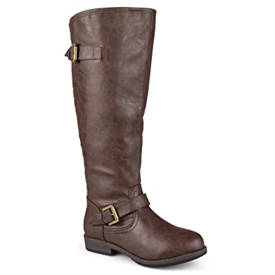 dca6c1b2c0c Amazon.com | Journee Collection Womens Regular Sized, Wide-Calf and ...