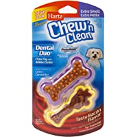 Hartz Chew 'n Clean Bacon Flavored Dog Chew Toy