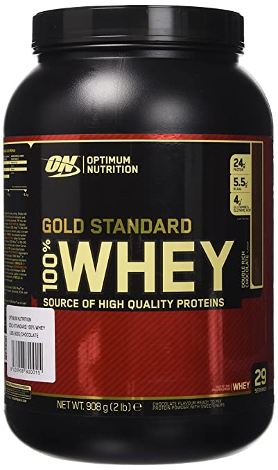 30 opinioni per Optimum Nutrition Gold Standard 100% Whey Proteine del Siero di Latte in