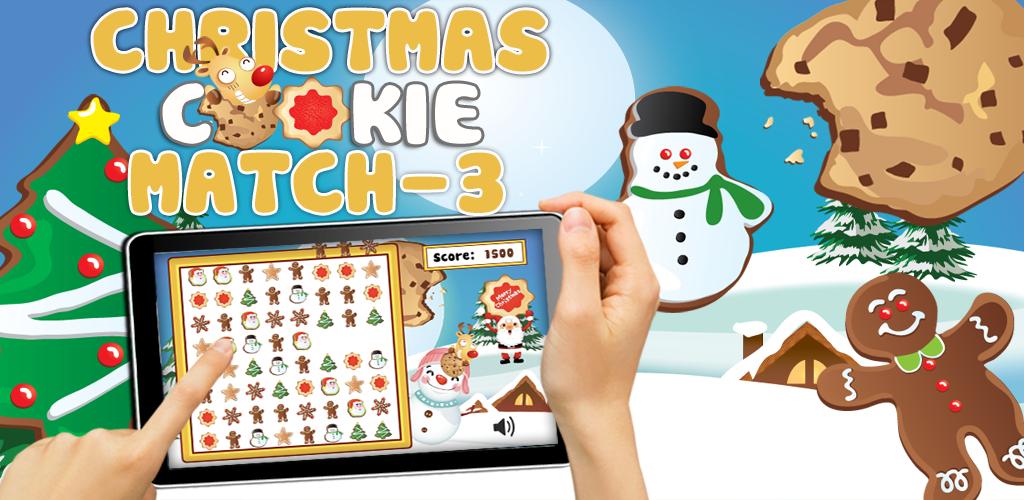Christmas Cookies Match 3 Christmas Game Kids App (Kindle Tablet Edition)