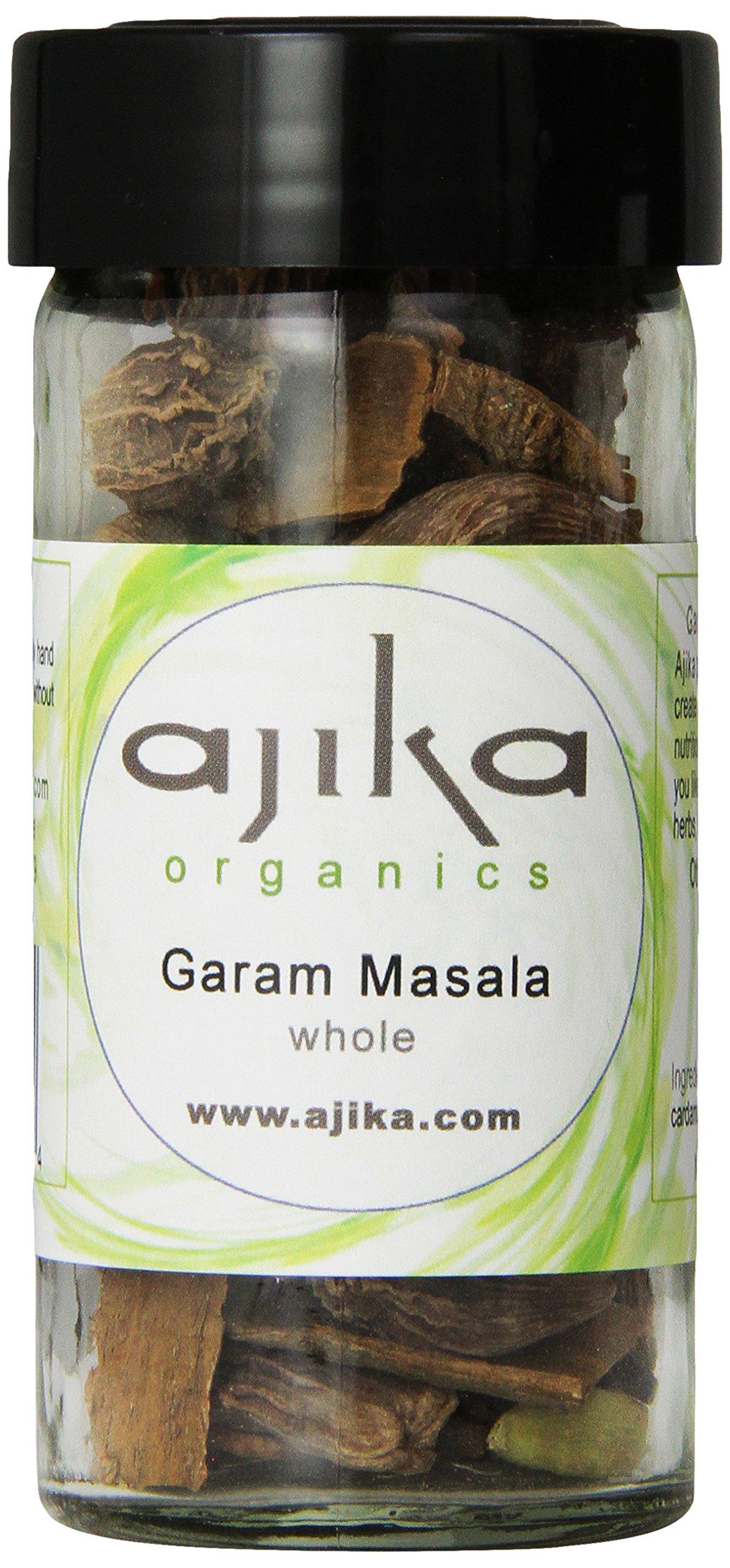 Ajika Organic Garam Masala, Whole, 1.6 Ounce