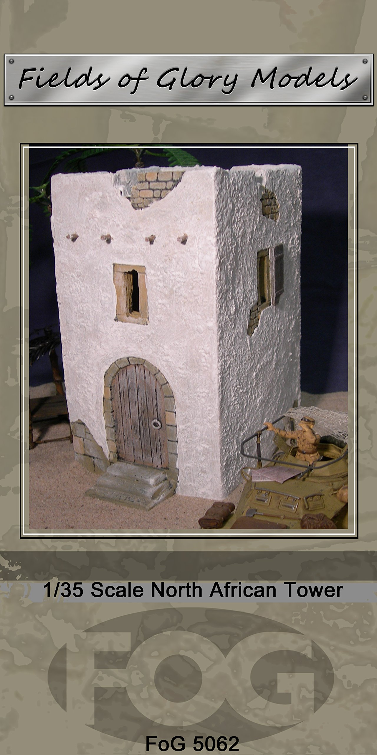 1/35 Scale North African Tower- Suit WW2 LRDG diorama ... by Fields of Glory (Image #1)
