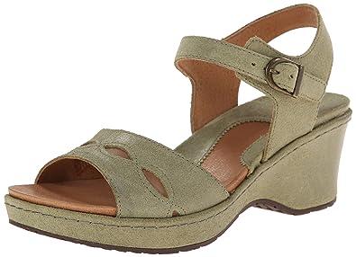 Ariat Women's Sandy Wedge Sandal, Olive, ...