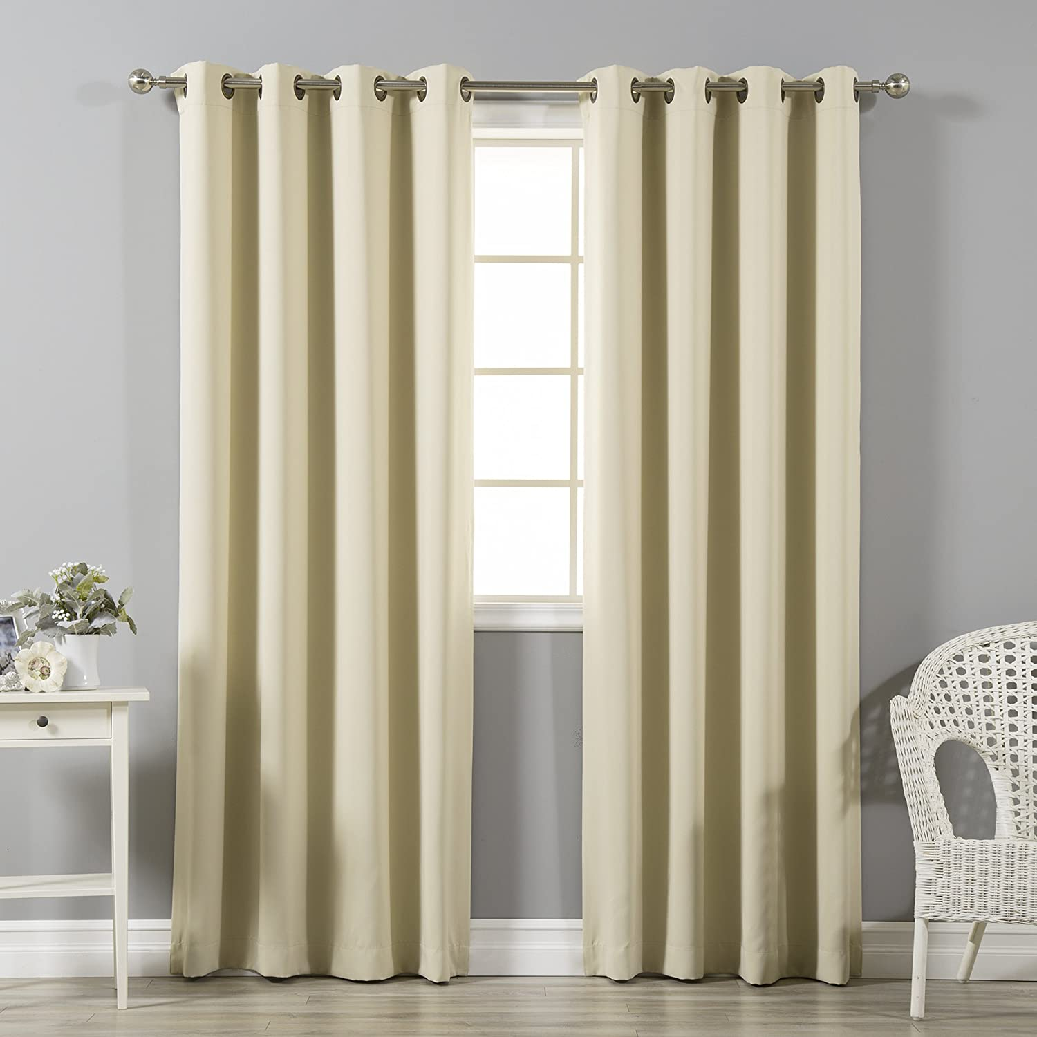 Thermal Insulated Blackout Curtains by Best Home Fashion