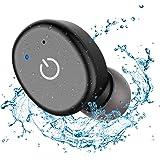 HOUSEN Bluetooth ヘッドセット イヤホン 完全ワイヤレス IP68防水規格 タッチ操作  通勤 通学 ランニング ジム ドライブ用  高音質 通話 ミニ 軽量 片耳 内蔵マイク 収納パック付き IPhone Android 対応 日本語マニュアル付 アフターサービス完備