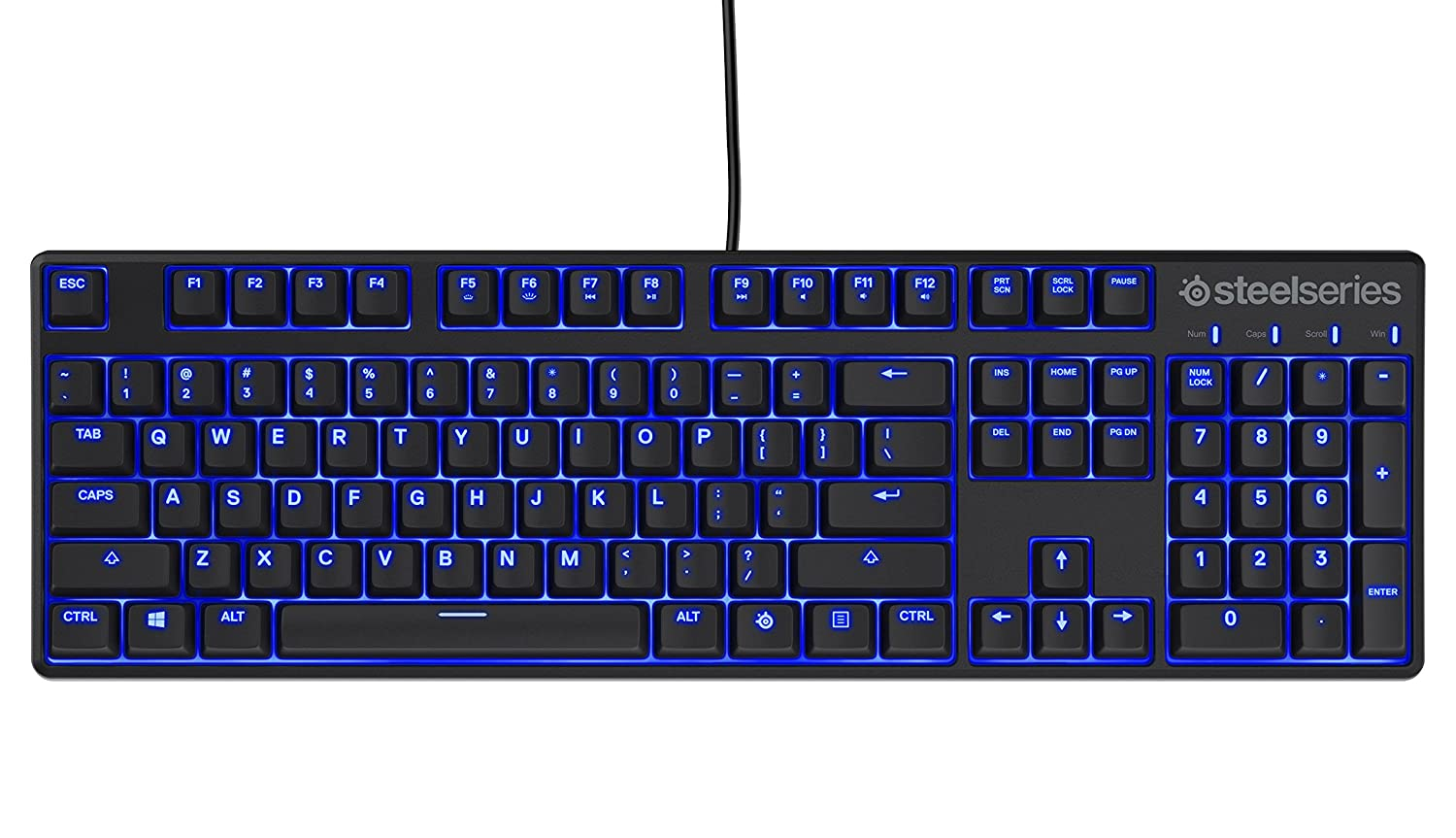 Amazon mechanical keyboard - Amazon Com Steelseries Apex M500 Mechanical Gaming Keyboard Cherry Mx Red Blue Led Backlit Computers Accessories
