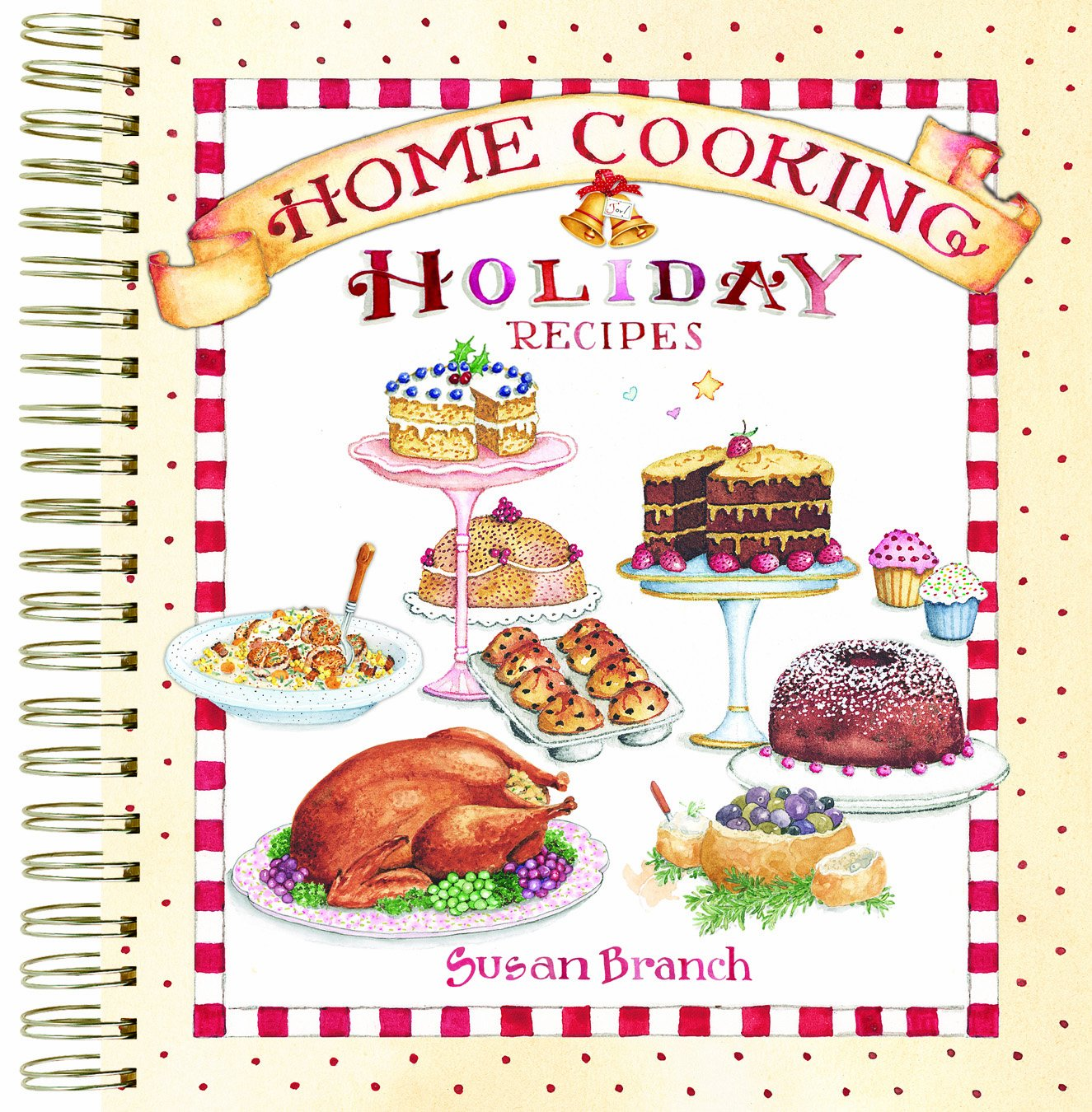 Home Cooking Holiday Recipes Keepsake Collection: Susan Branch ...