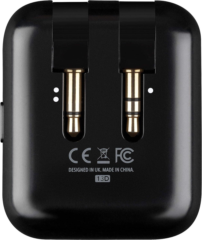 RHA Adaptador de vuelo inalámbrico Transmisor de audio Bluetooth 5: Amazon.es: Electrónica
