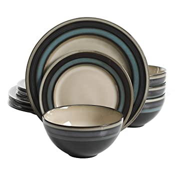 Gibson Elite Everstone 12-Piece Dinnerware Set