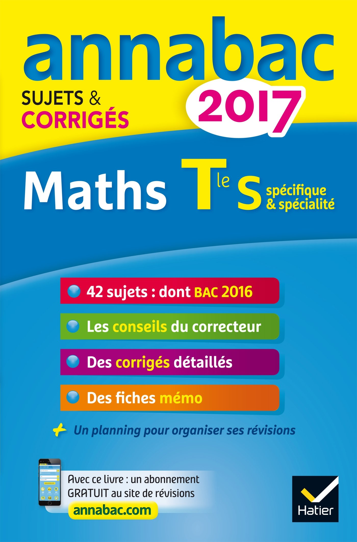 Annales Annabac 2017 Maths Tle S spécifique & spécialité: sujets et corrigés du bac Terminale S: Amazon.es: Hervé Kazmierczak, Christophe Roland: Libros en ...