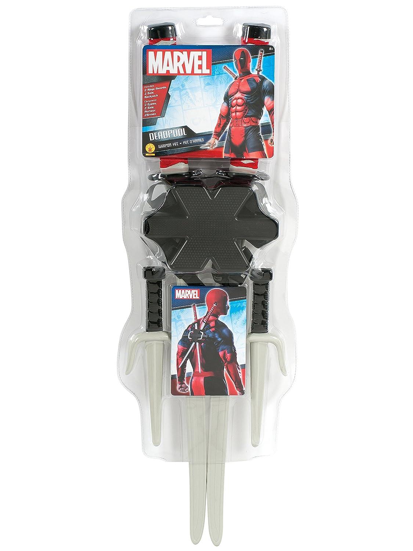 Rubie's Costume Accessory Classic Deadpool Weapon Set