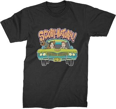 Black Unisex T-shirt Scooby Doo Scoobynatural