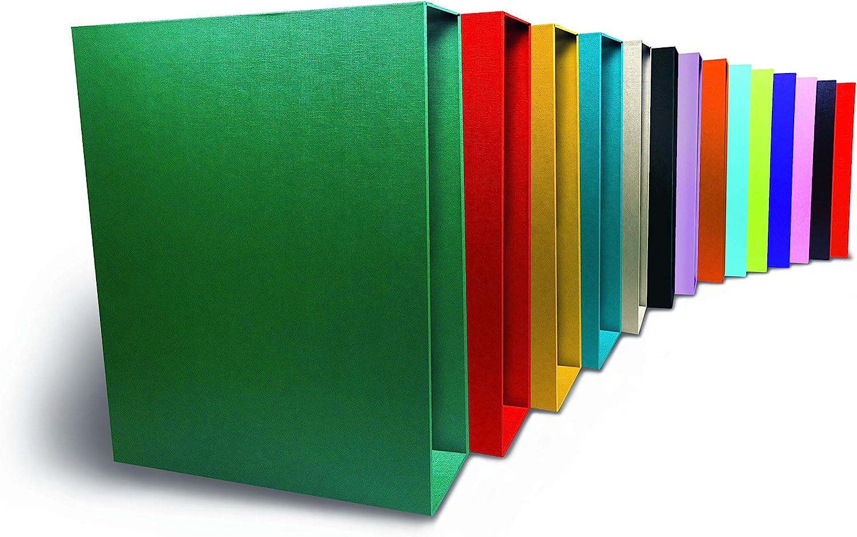 Niceday - Cajetín Archivador Color Negro Folio 7 5 Cm: Amazon.es: Oficina y papelería