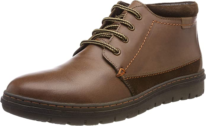 TALLA 42 EU. Hush Puppies Boston, Botas Chukka para Hombre