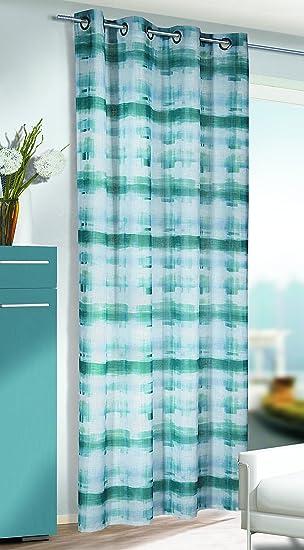 Kamaca shop   cortina con ojales (ligera, vaporosa, 135 x 245 cm ...