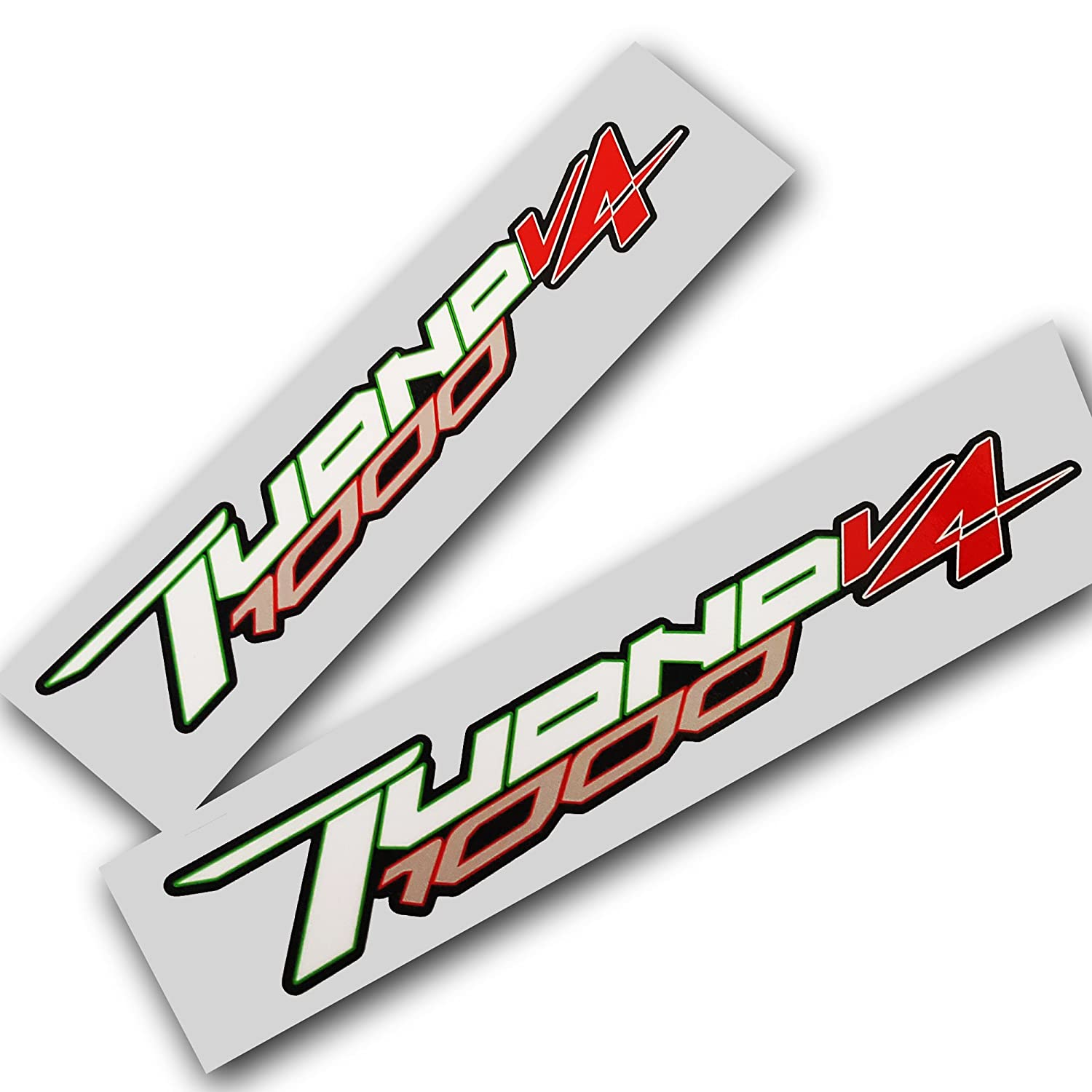 Aprilia tuono v4 1000 custom graphics decals stickers x 2 amazon co uk car motorbike