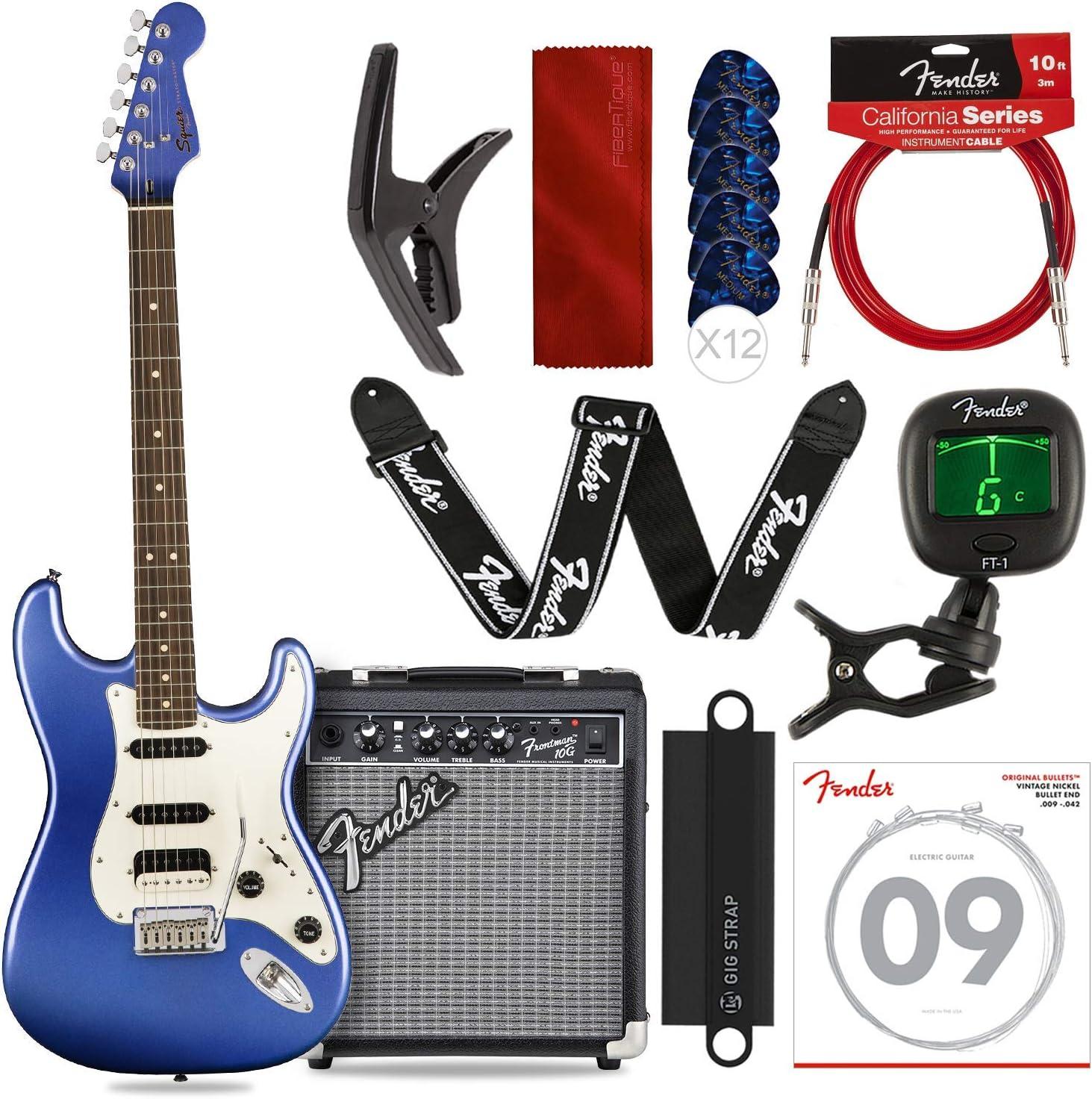 Guitarra eléctrica Squier por Fender Contemporary Stratocaster HSS ...