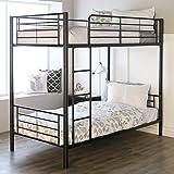 Amazon Com Duro Z Bunk Bed Loft With Desk White