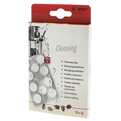 Scanpart Tablettes de nettoyage, nettoyage Lot de 10 Weiß