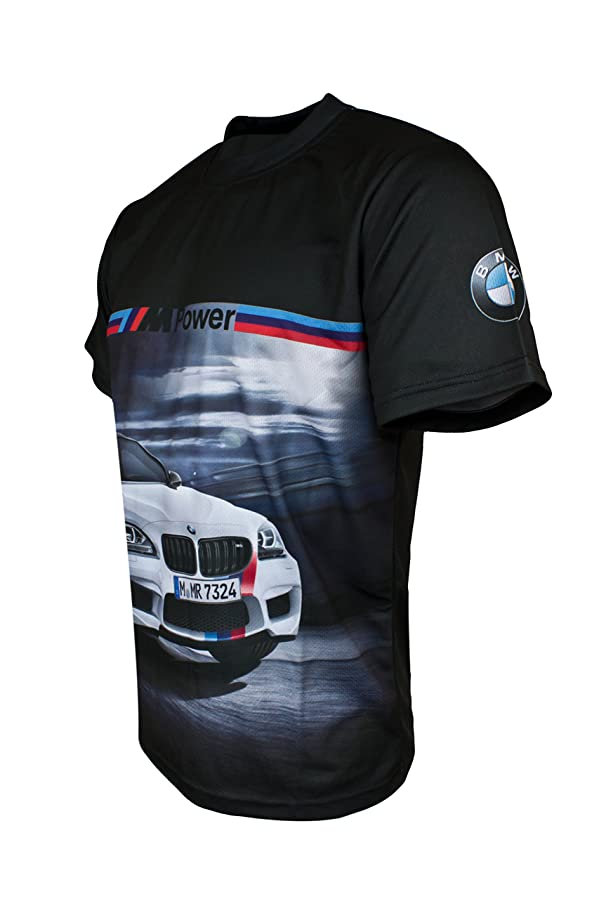 BMW M Power M6 White Graphic Short Sleeve T Shirt Car DTM at Amazon Men's  Clothing store: