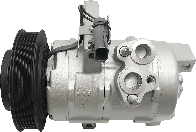 New A//C Compressor w// Clutch 98272 V5 for 04-08 Suzuki Forenza Reno 2.0L